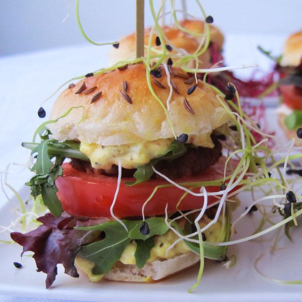 Vegetarisk Burgare Catering Stockholm Mari Milo