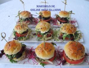 Catering Stockholm Mini Burgare