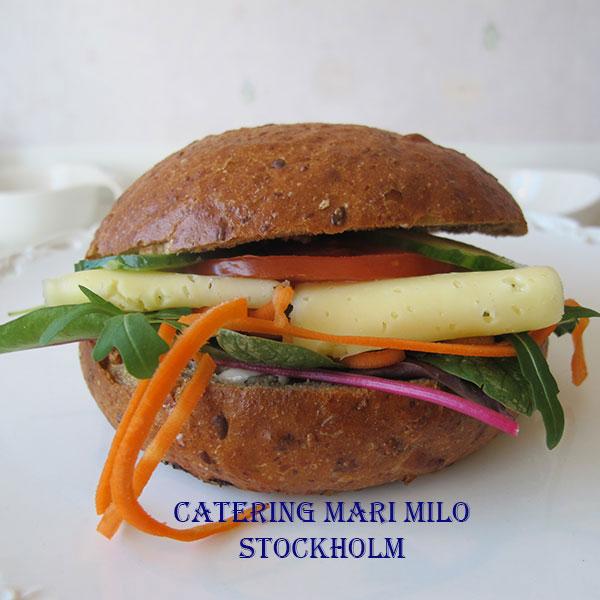 Vegetarisk macka Solna catering
