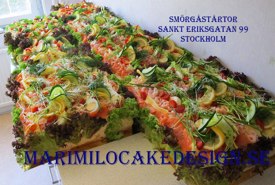 Beställ smörgåstårta Stockholm