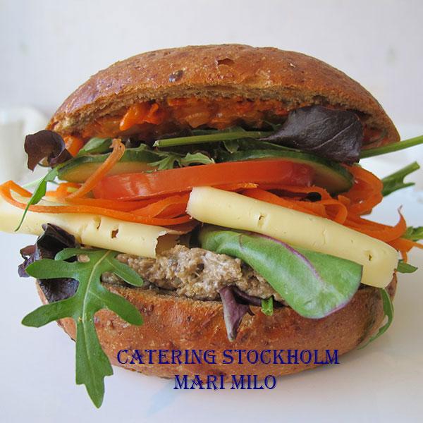 Beställ vegetarisk smörgås Stockholm