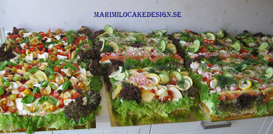 Smörgåstårtor på beställning Stockholm