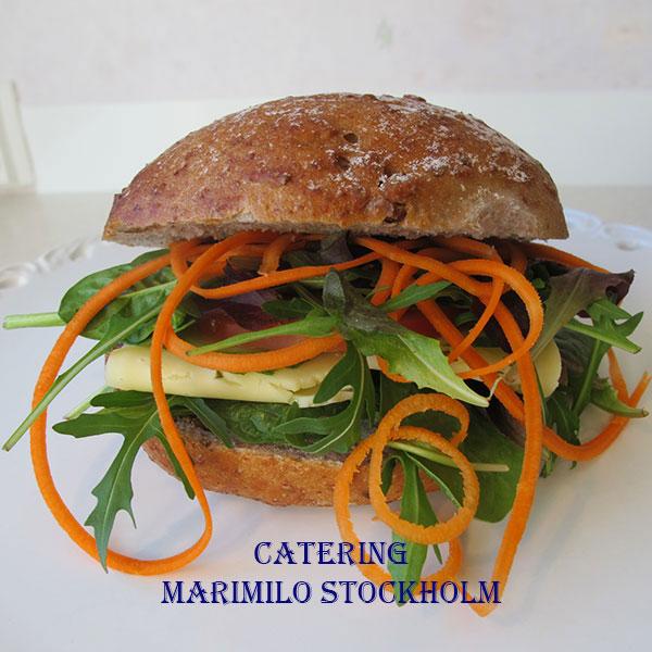 Beställa vegetariska mackor Östermalm