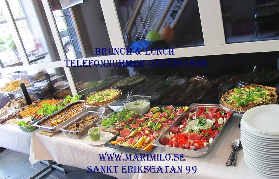 Catering buffé Vasastan