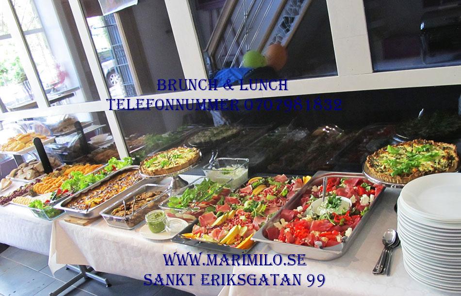 Catering buffé Vasastan