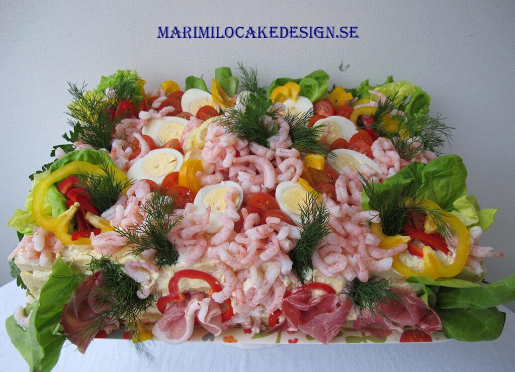 Smörgåstårta Östermalm