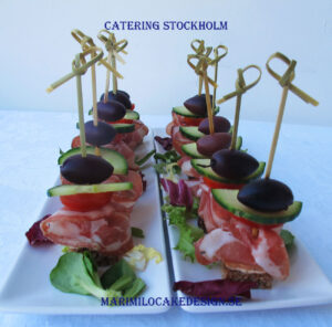 Pinchos plockmat Stockholm Catering