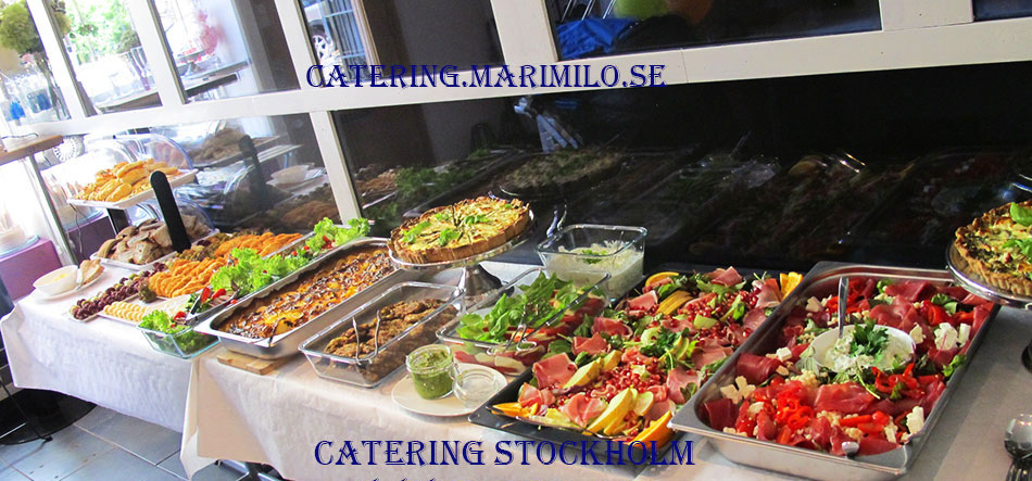Buffé Catering Vasastan by Mari Milo