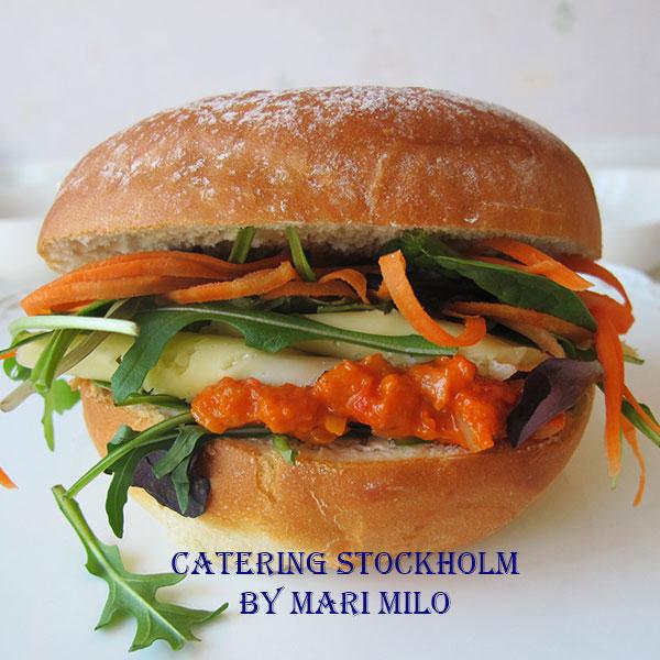 Vegetarisk macka Stockholm Pris