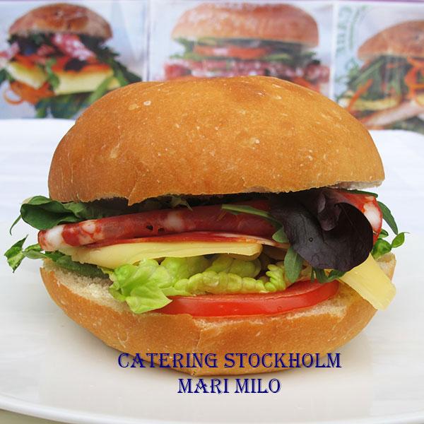 Frukostfralla Catering Stockholm med  Salami Ventricina Piccante
