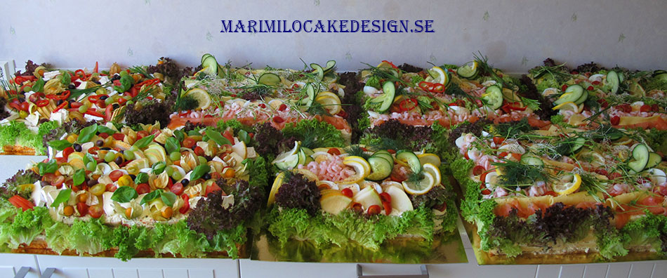 Catering Stockholm Smörgåstårta