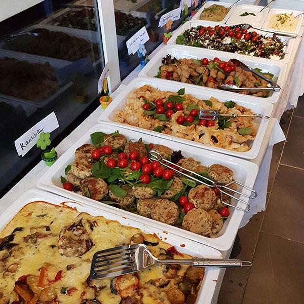 Vegetarisk buffé Stockholm