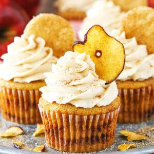 Äpple och Kanel Cupcakes