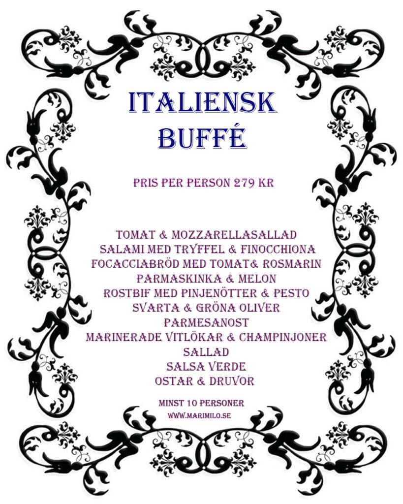 Italiensk Buffé