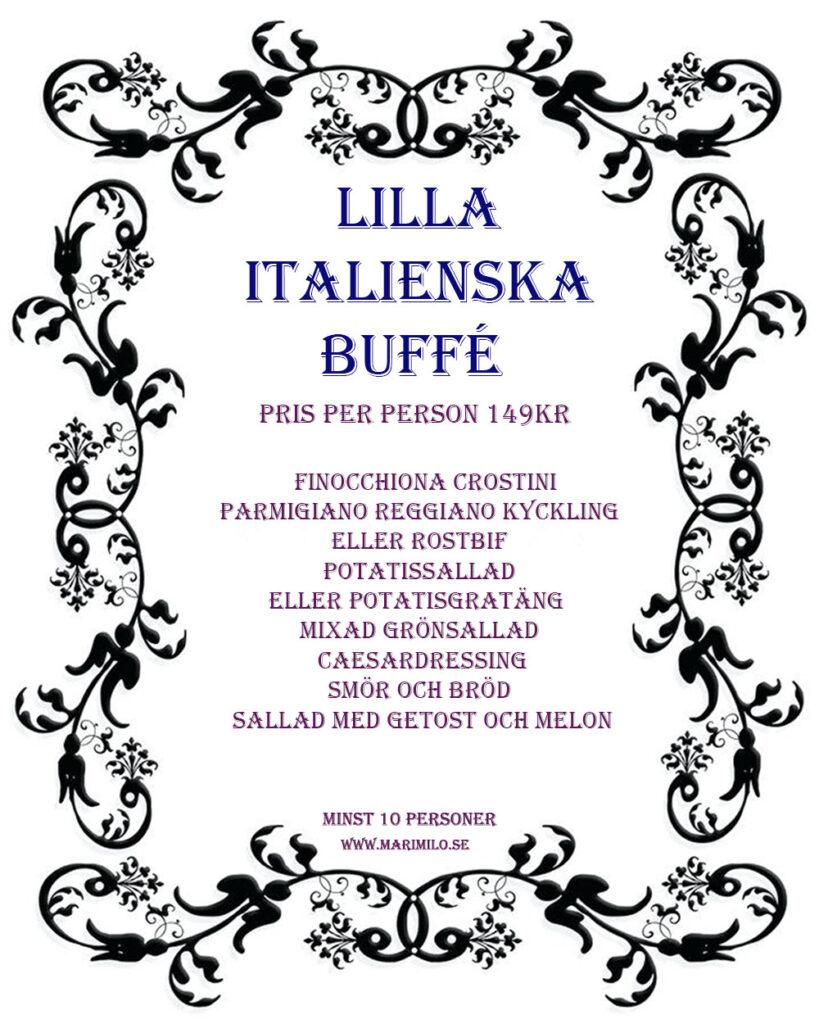 lilla italienska buffé