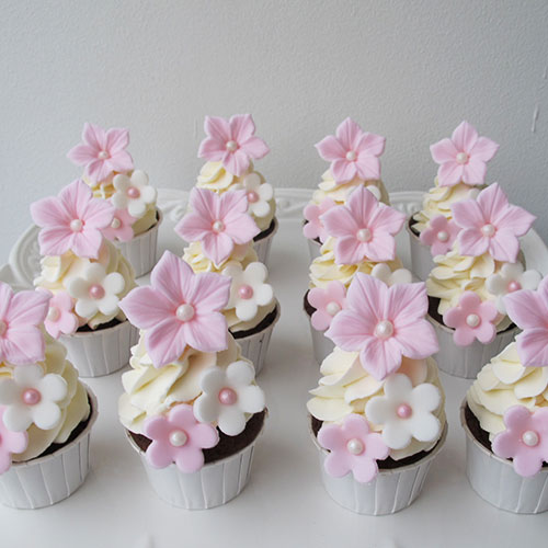 Mini Cupcakes Rosa