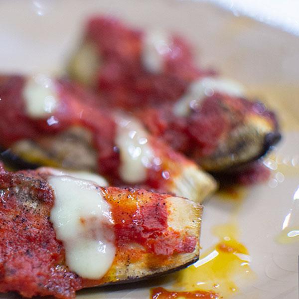 Pizzaiola Aubergine